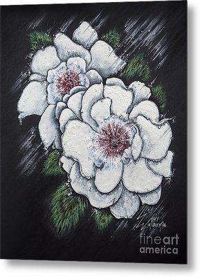 Summer Roses Metal Print by Scott and Dixie Wiley