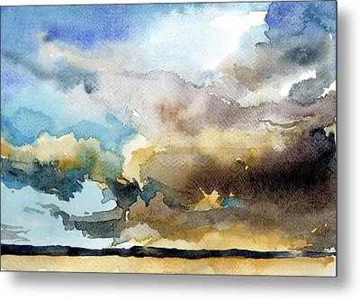 Summer Sandstorm Metal Print by Stephanie Aarons