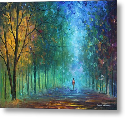 Summer Scent Metal Print by Leonid Afremov