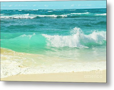 Metal Print featuring the photograph Summer Sea by Sharon Mau