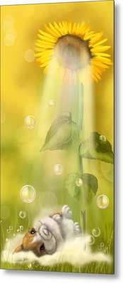 Summer Shower Metal Print by Veronica Minozzi
