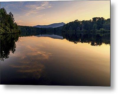 Price Lake Sunset - Blue Ridge Parkway Metal Print