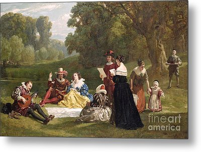 Summer Song Metal Print by Frederick Goodall