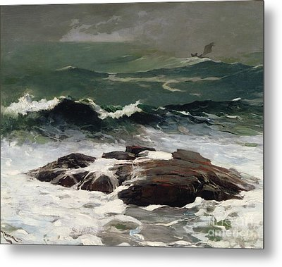 Summer Squall Metal Print by Winslow Homer