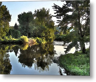 Metal Print featuring the photograph Summer Still by Betsy Zimmerli