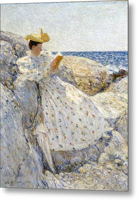 Summer Sunlight Metal Print by Childe Hassam