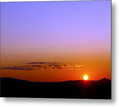 Metal Print featuring the photograph Summer Sunset by Gary Smith