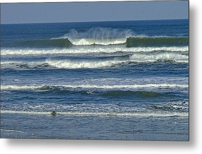 Summer Swell Metal Print by Donna Cain