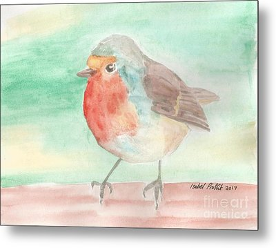 Summer Time Robin Metal Print by Isabel Proffit