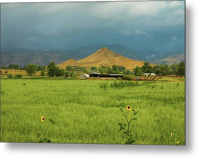 Metal Print featuring the photograph Summer View Of  Hay Stack Mountain by James BO Insogna