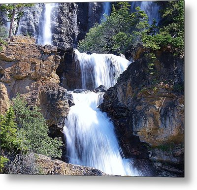 Metal Print featuring the photograph Summer White Water by Al Fritz