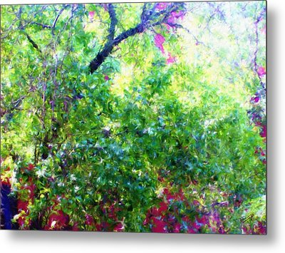 Summer Window Metal Print