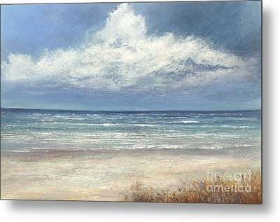 Summer's Day Metal Print by Valerie Travers