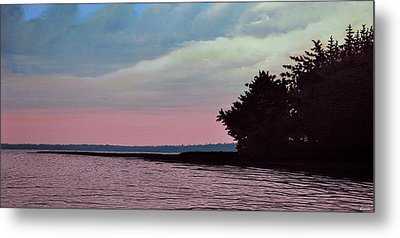 Summers Eve Metal Print by Kenneth M  Kirsch