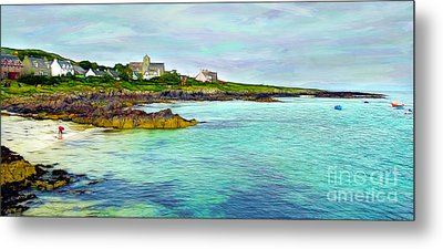 Summertime, Isle Of Iona Metal Print