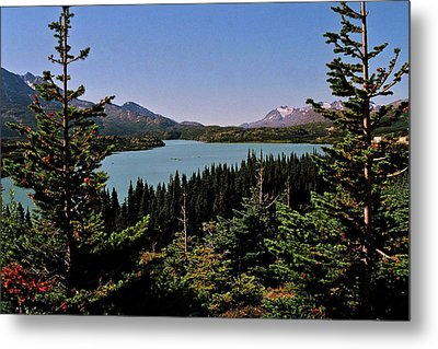 Tagish Lake - Yukon Metal Print