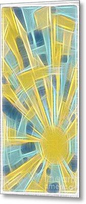 Sun And Sky No 16.041405 Metal Print