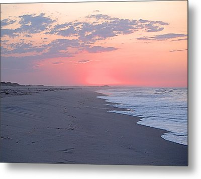 Metal Print featuring the photograph Sun Brightened Clouds by  Newwwman