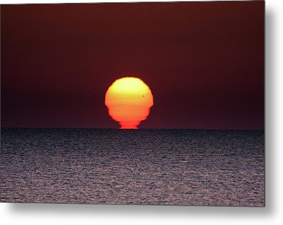 Sun Metal Print by Bruno Spagnolo