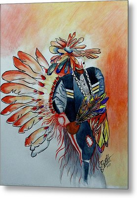 Sun Dancer Metal Print by Jimmy Smith