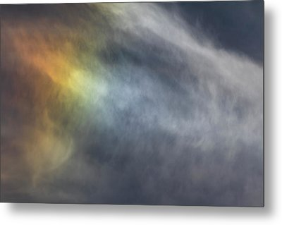 Metal Print featuring the photograph Sun Dog 2017 by Thomas Young