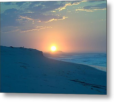 Metal Print featuring the photograph Sun Dune by  Newwwman