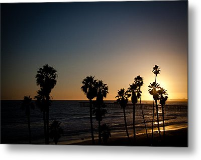 Sun Going Down In California Metal Print by Ralf Kaiser