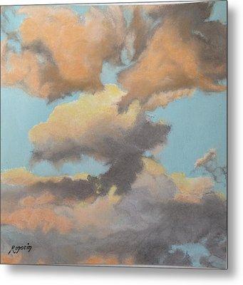 Sun Kissed Sky Metal Print by Harvey Rogosin