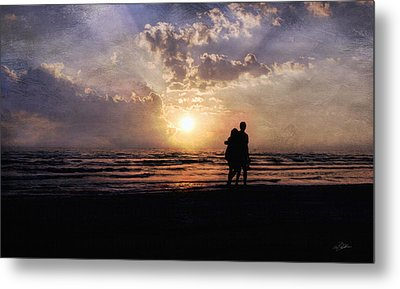 Sun Lovers Metal Print by Peter Chilelli