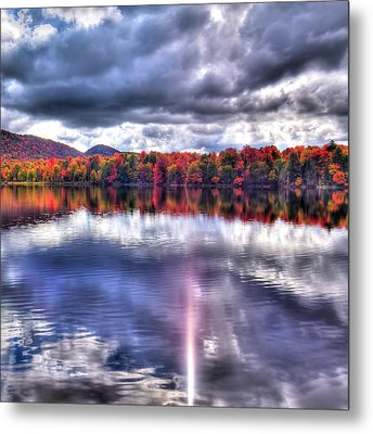 Metal Print featuring the photograph Sun Streaks On West Lake by David Patterson
