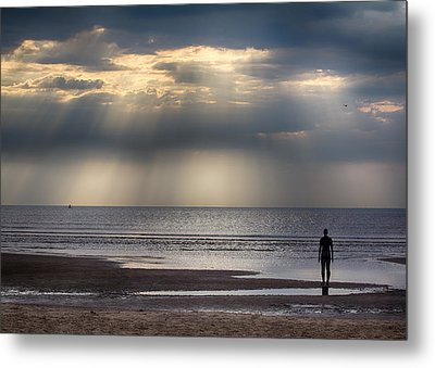 Sun Through The Clouds 2 5x7 Metal Print