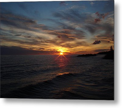 Metal Print featuring the photograph Sun Up by Bonfire Photography