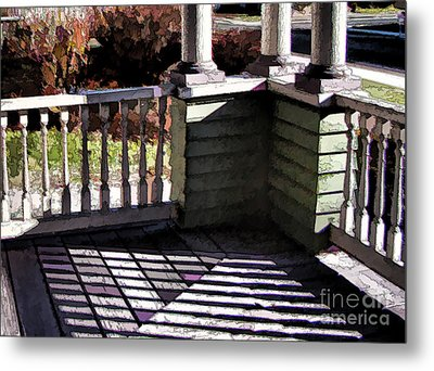Metal Print featuring the photograph Sun Writ by Betsy Zimmerli