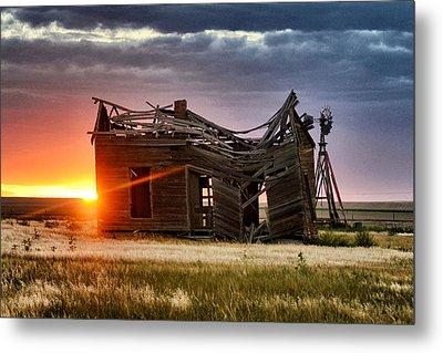 Sunbeam Light Metal Print by Clarice  Lakota