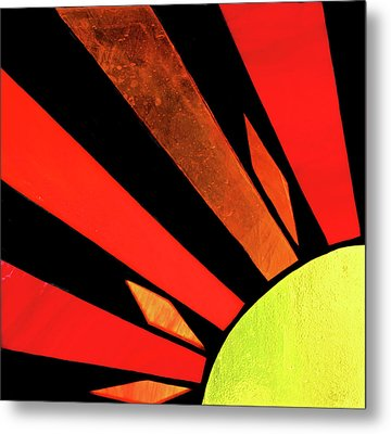 Metal Print featuring the photograph Sunburst by Kristin Elmquist