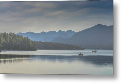 Metal Print featuring the photograph Sunday Morning Fishing by Chris Lord