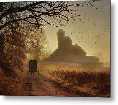 Sunday Morning Metal Print by Lori Deiter