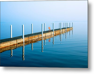 Sunday Morning Pier Metal Print by Todd Klassy