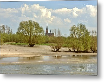 Sunday On The Rhine Metal Print