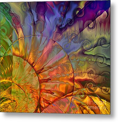 Sundial Metal Print by Mindy Sommers