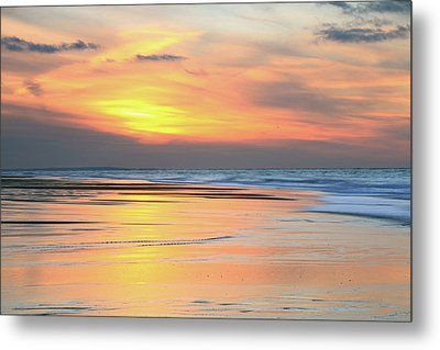 Metal Print featuring the photograph Sundown At Race Point Beach by Roupen  Baker