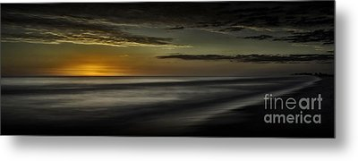 Sundown At Santa Rosa Beach Metal Print by Walt Foegelle