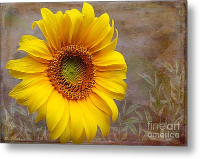 Sunflower Serenade Metal Print