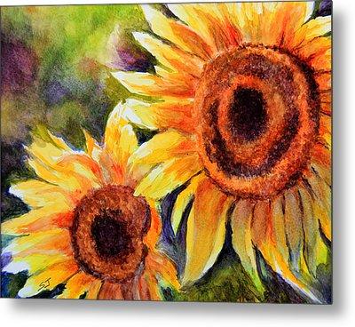 Sunflowers 2 Metal Print by Susan Jenkins
