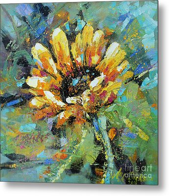 Sunflowers II Metal Print