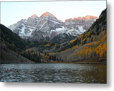 First Light Metal Print by Eric Glaser