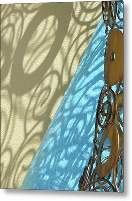 Sunlit In Swirls Metal Print