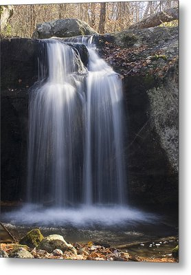 Metal Print featuring the photograph Sunlit Streams by Alan Raasch