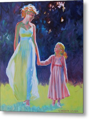 Sunlit Walk Metal Print by Kevin Lawrence Leveque