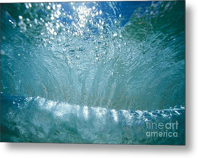 Sunlit Wave Metal Print by Vince Cavataio - Printscapes